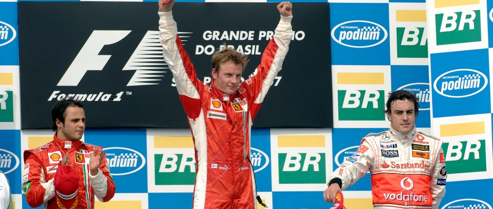 It's Been 10 Years Since Raikkonen Won The World Championship