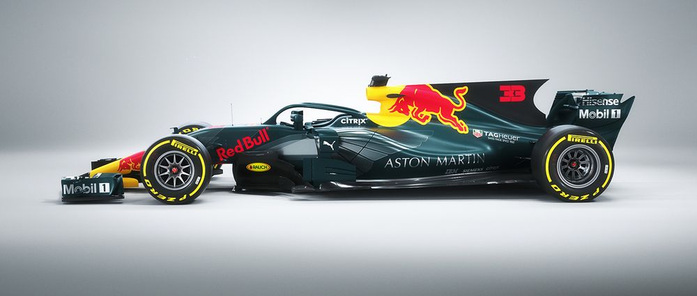 This Aston Martin Red Bull Livery Looks Good Enough To Be The Real Thing