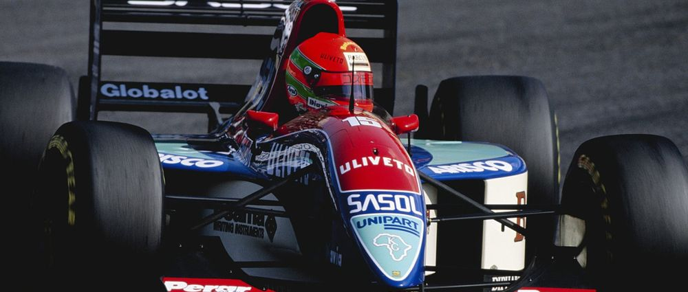 Remembering The Controversial Start To Eddie Irvine's F1 Career