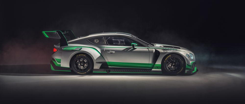 Bentley's New Continental GT3 Looks Absolutely Brutal