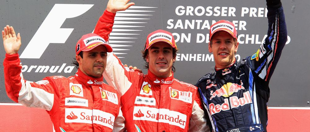 Felipe Massa Has Ranked The Top Five Drivers He's Raced Against In Formula 1