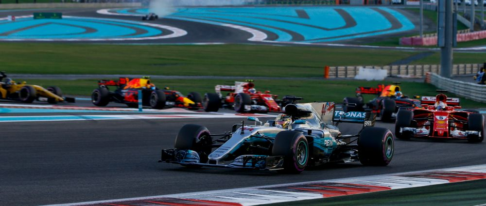 Lewis Hamilton Doesn't Think Yas Marina Suits Current F1 Cars