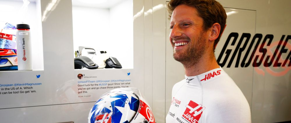 Haas's Team Principal Really Hopes Grosjean Cuts Down His Moaning Next Year