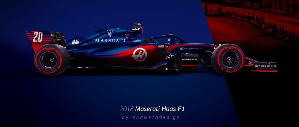 If Maserati Sponsor Haas We Hope It'll Look This Good