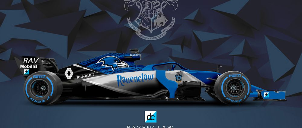 If The Harry Potter Universe Had F1 Teams They Might Look A Little Something Like This