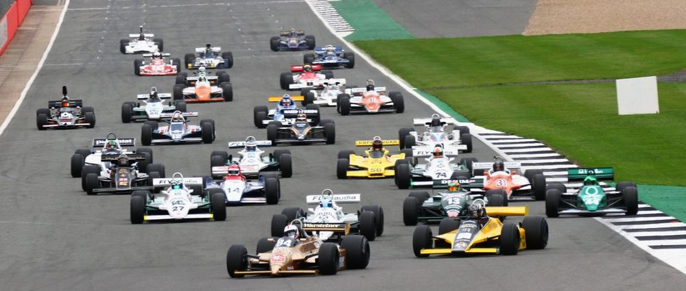 The Historic F1 Championship Will Support The British GP This Year