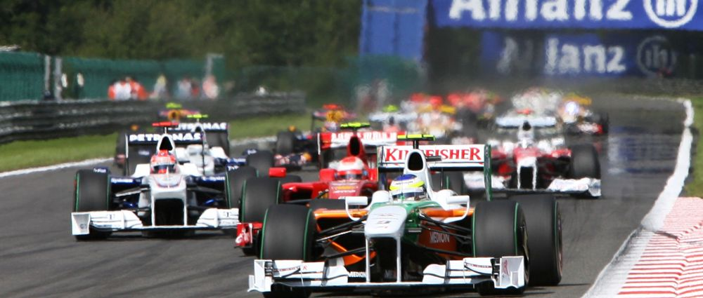 Remembering Giancarlo Fisichella's Sensational Weekend At Spa In 2009
