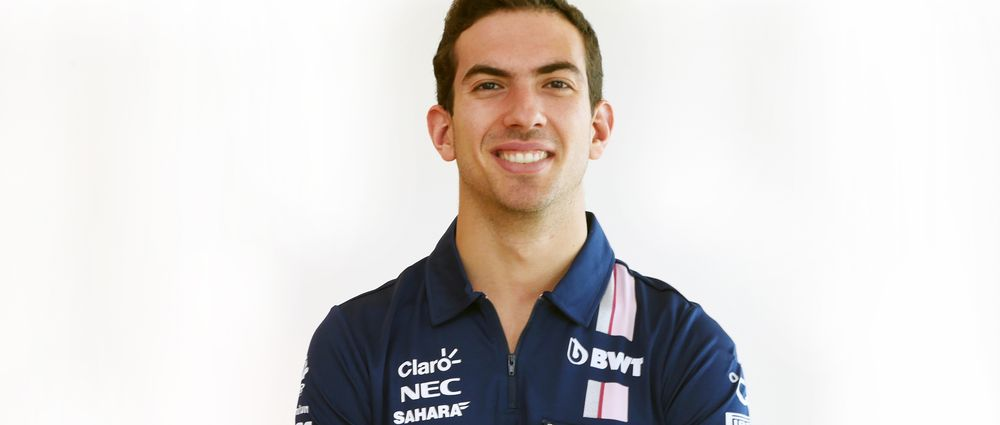 Force India Has Signed Nicholas Latifi As Its New Test And Reserve Driver