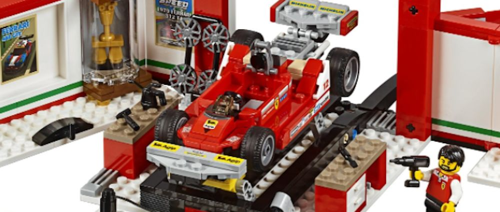 This Awesome New Lego Set Includes Gilles Villeneuve's Ferrari