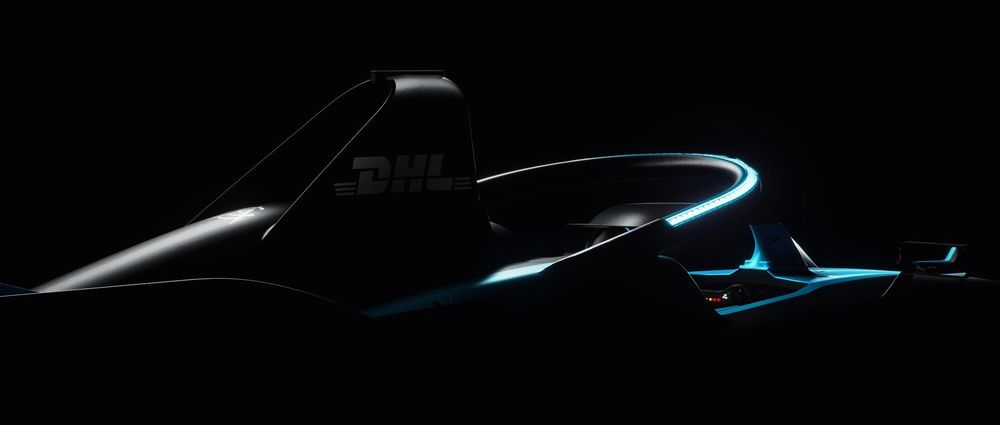 The New Formula E Car Has Lights On The Halo According To This Teaser Image