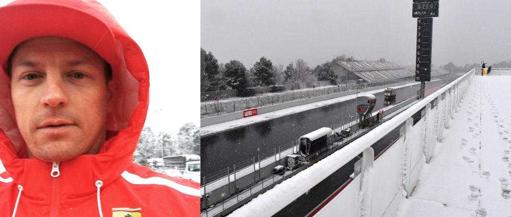 It's A Snow Day In F1 As Testing Is Delayed By Weather