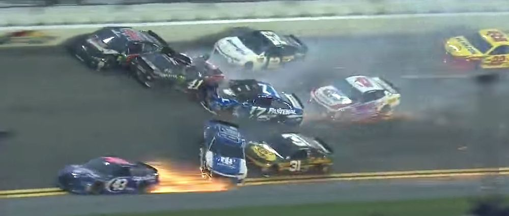 There Were Plenty Of Wrecks And A Forceful Last Lap Move For The Win In A Chaotic Daytona 500