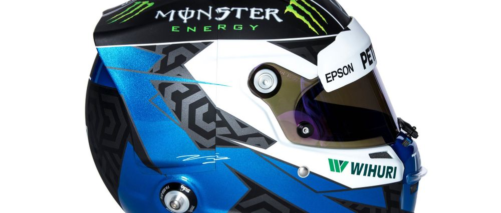 Here's The Winning Design From Bottas's 2018 Helmet Competition