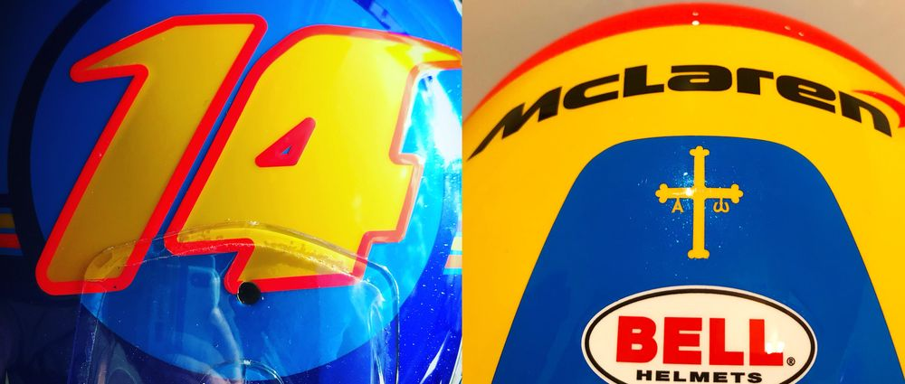 Alonso Has Been Teasing Yet Another New Helmet Design
