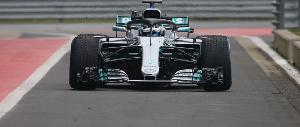Here's A Look At Mercedes' 2018 F1 Contender, The W09