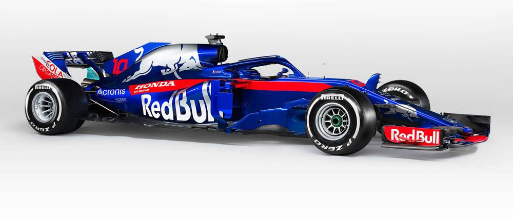 The Toro Rosso STR13 Has Now Been Officially Revealed