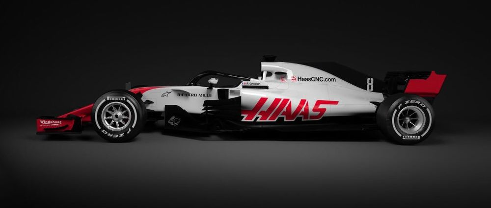 Haas Has Revealed The First New Car Of 2018