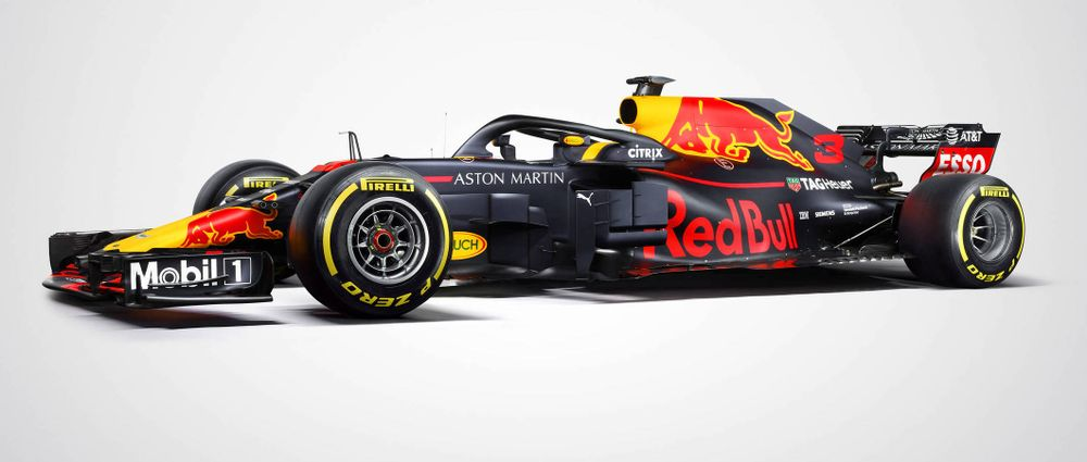 Here's The Proper Livery Red Bull Will Be Using This Season