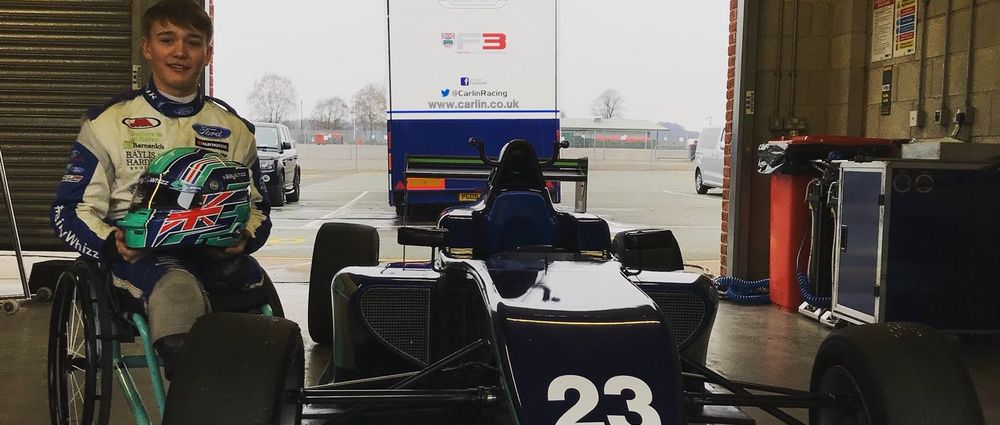 Billy Monger Has Driven A Single-Seater For The First Time Since His Crash