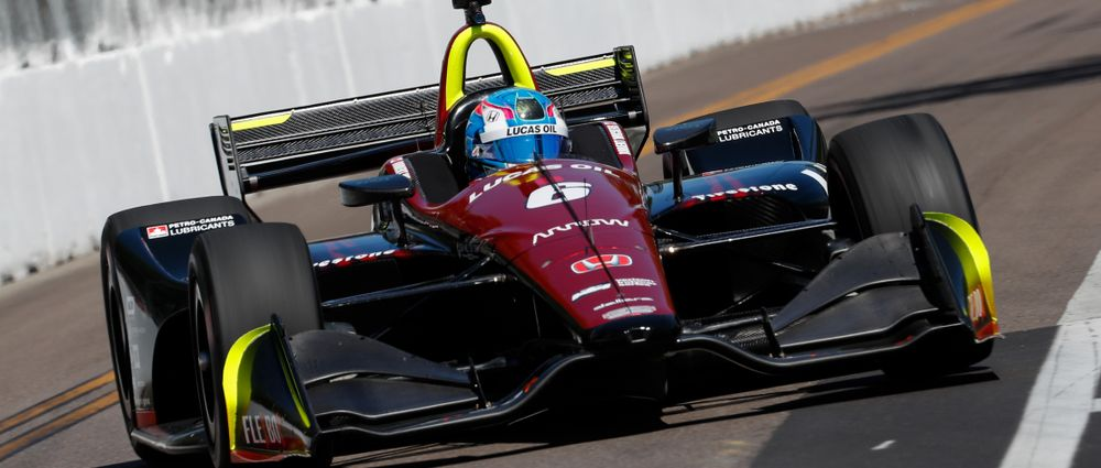 Wickens On Pole As Rookies Dominate Qualifying For The First IndyCar Race Of The Season