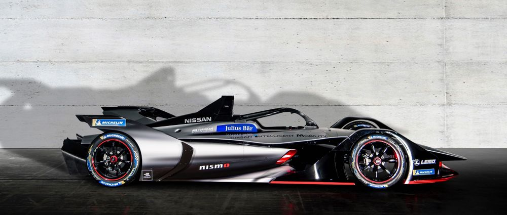 Nissan's Awesome Formula E Livery Takes Inspiration From The Doppler Effect