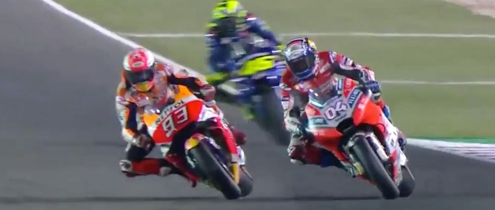 The First MotoGP Race Of 2018 Came Down To The Final Corner