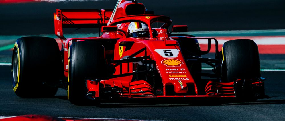 Vettel Destroyed The Barcelona Lap Record In The Morning Session Of Day Three