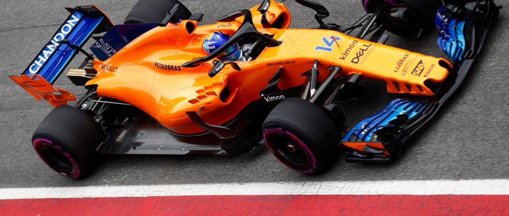 McLaren Has Broken Down Again On The Second Day Of This Week's Barcelona Test