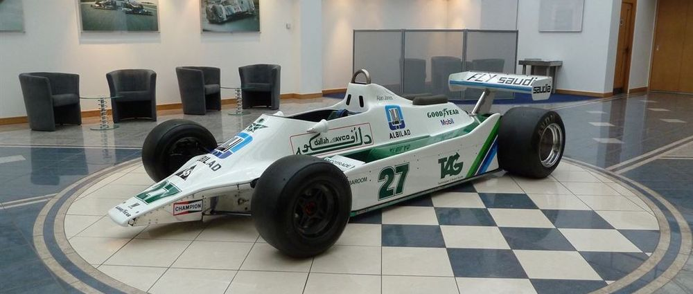Williams' First Ever Ground Effect F1 Car Is Up For Auction
