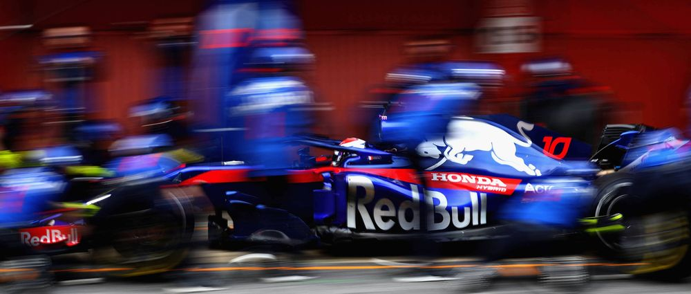 Toro Rosso Only Used One Honda Power Unit For The Entire Second Test
