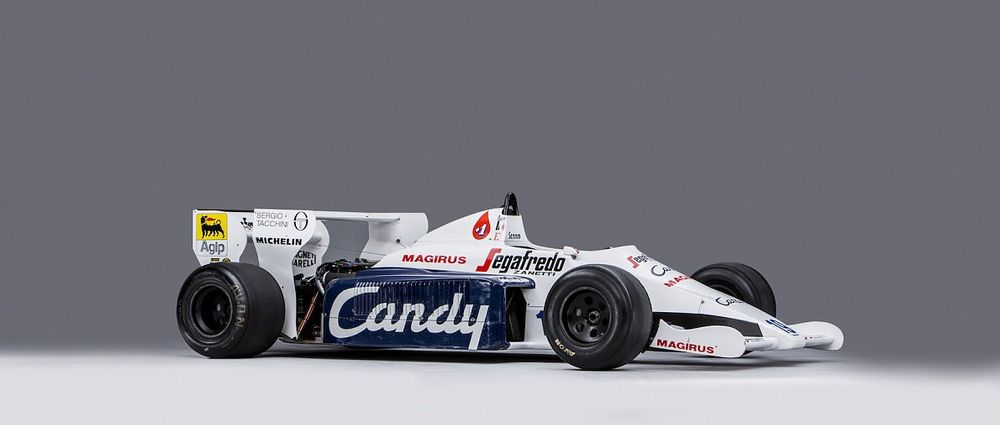 The Toleman Senna Drove To Second Place At Monaco Is Heading For Auction