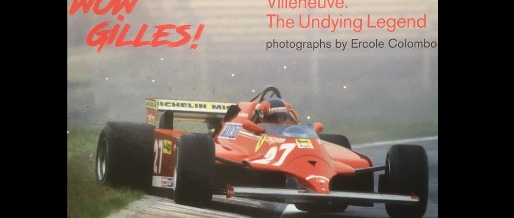 This New Gilles Villeneuve Book Tells The Story Of His Career Through Photos