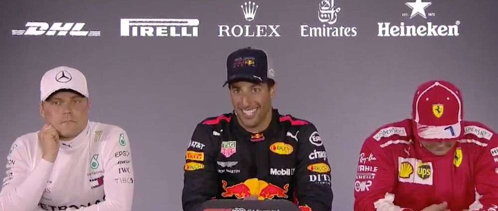 Ricciardo Unleashed A Load Of Hilarious One-Liners After His Chinese GP Victory