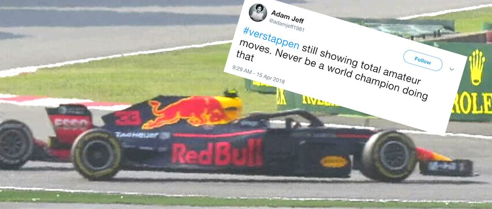 F1 Fans React To Verstappen's Driving In The Chinese GP