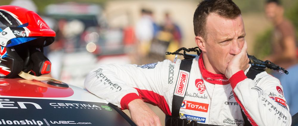 WRC Driver Kris Meeke Has Been Fired Because He Crashes Too Much
