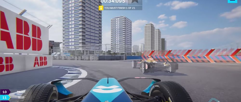 Formula E's New Esports Game Will Let You Race Against Actual Drivers In Real Time