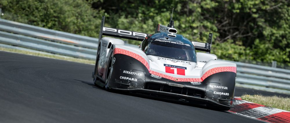 Porsche Just Smashed The Nordschleife Lap Record With The 919 Evo