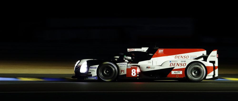 Alonso, Buemi And Nakajima Put Toyota On Pole For Le Mans