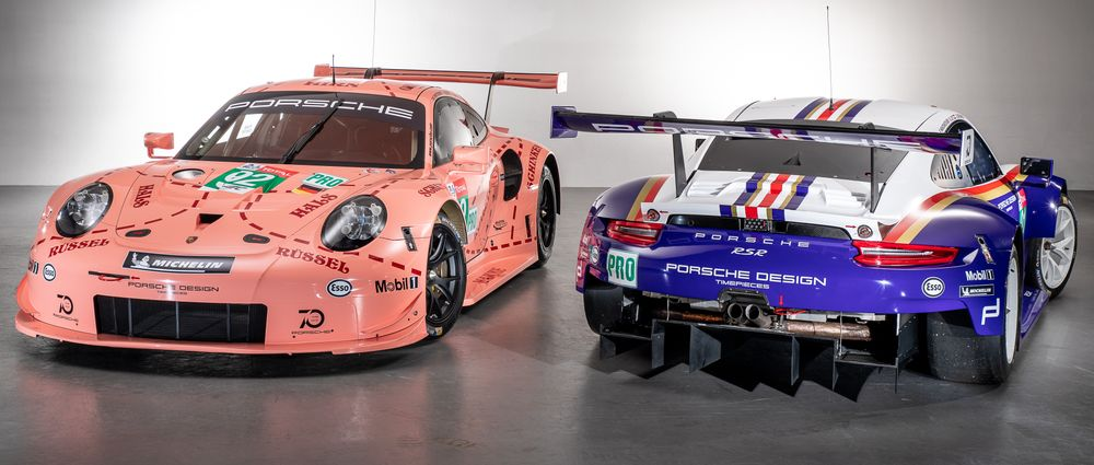 Porsche Will Run These Stunning Retro Liveries At Le Mans