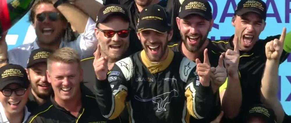 Vergne Wraps Up The Formula E Championship With A Race To Spare