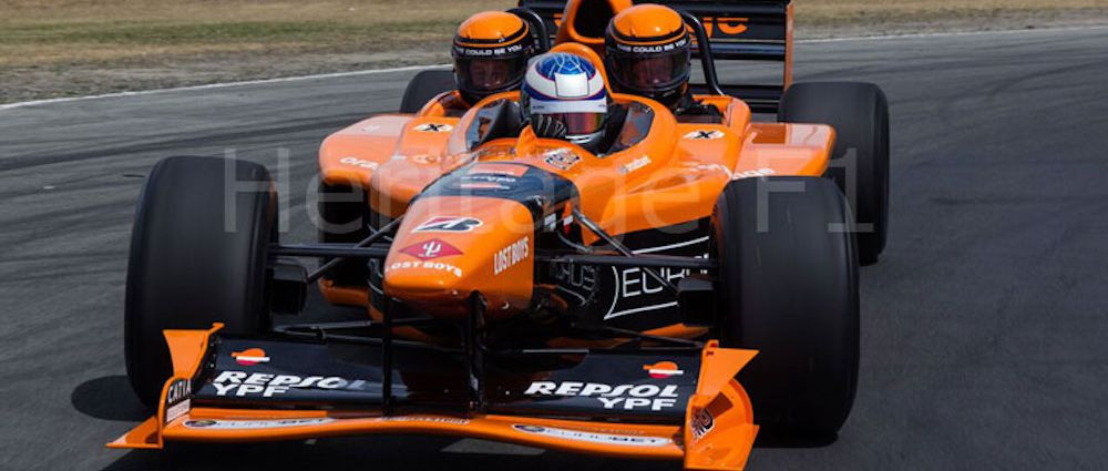 You Know You'd Love To Own These Three-Seater Arrows F1 Cars