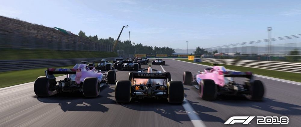 F1 2018's Career Mode Will Have Rule Changes Which Affect The Order Of The Grid
