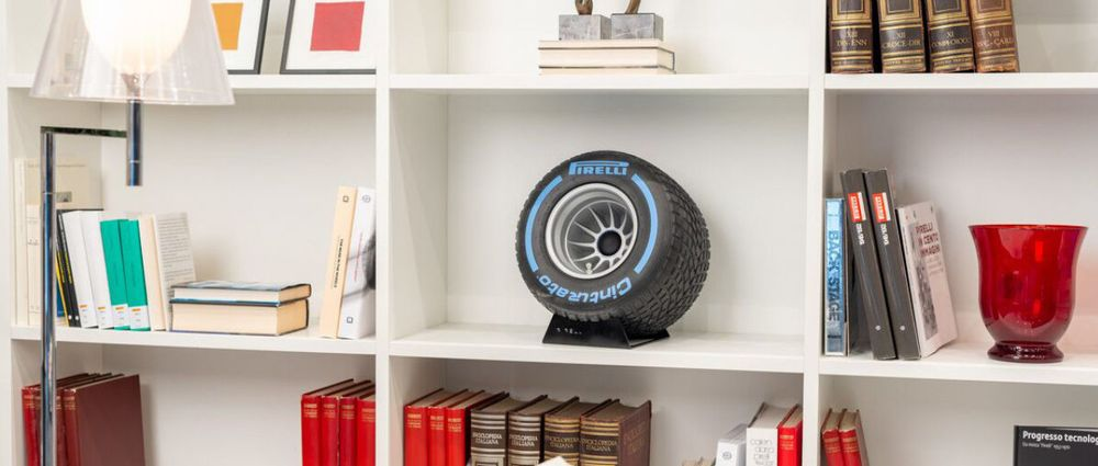 Pirelli Has Launched A Bluetooth Speaker Shaped Like An F1 Wheel