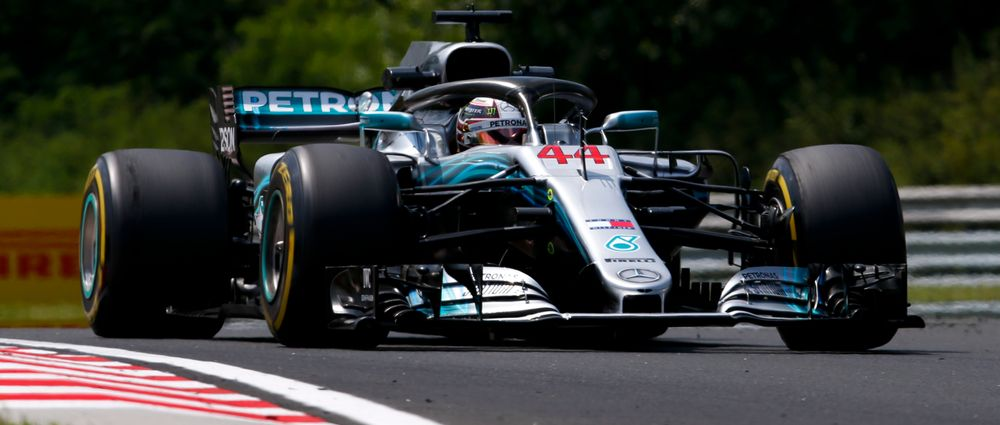 Hamilton Wins In Hungary As Vettel Takes Second In Frantic Final Laps