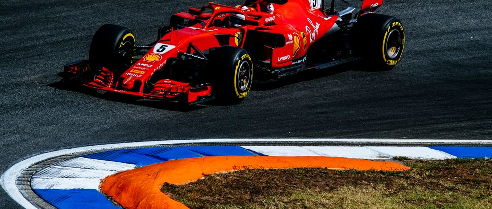 Vettel Secures Pole At Home As Hamilton Hits Trouble