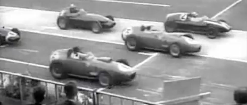 The 1959 German Grand Prix Had An Unusual Format On An Unusual Track