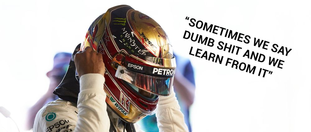 Hamilton Has Explained His Reactions After The British GP