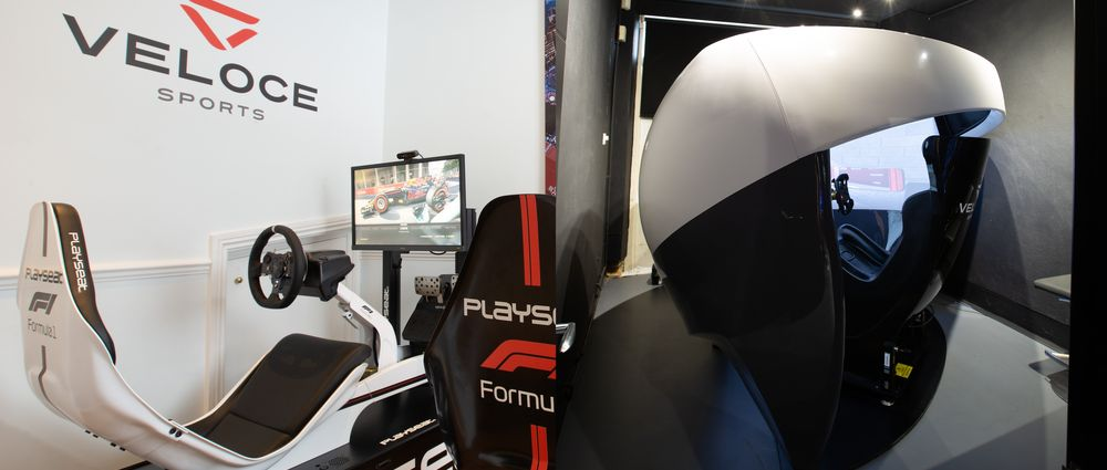 The World's First Esports Racing Hub Is Every Sim Racer's Dream