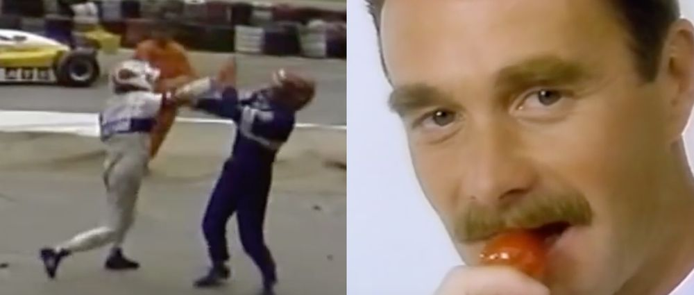 On This Day In F1 - Two Drivers Have A Fight And A Strawberry-Eating World Champion Is Born