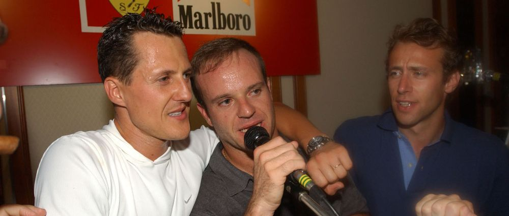 On This Day In F1 - Michael Schumacher And Ferrari Have A Wild Party